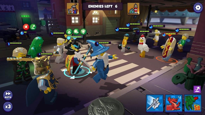 دانلود LEGO Legacy: Heroes Unboxed 1.3.5 – بازی نبردهای لگویی اندروید