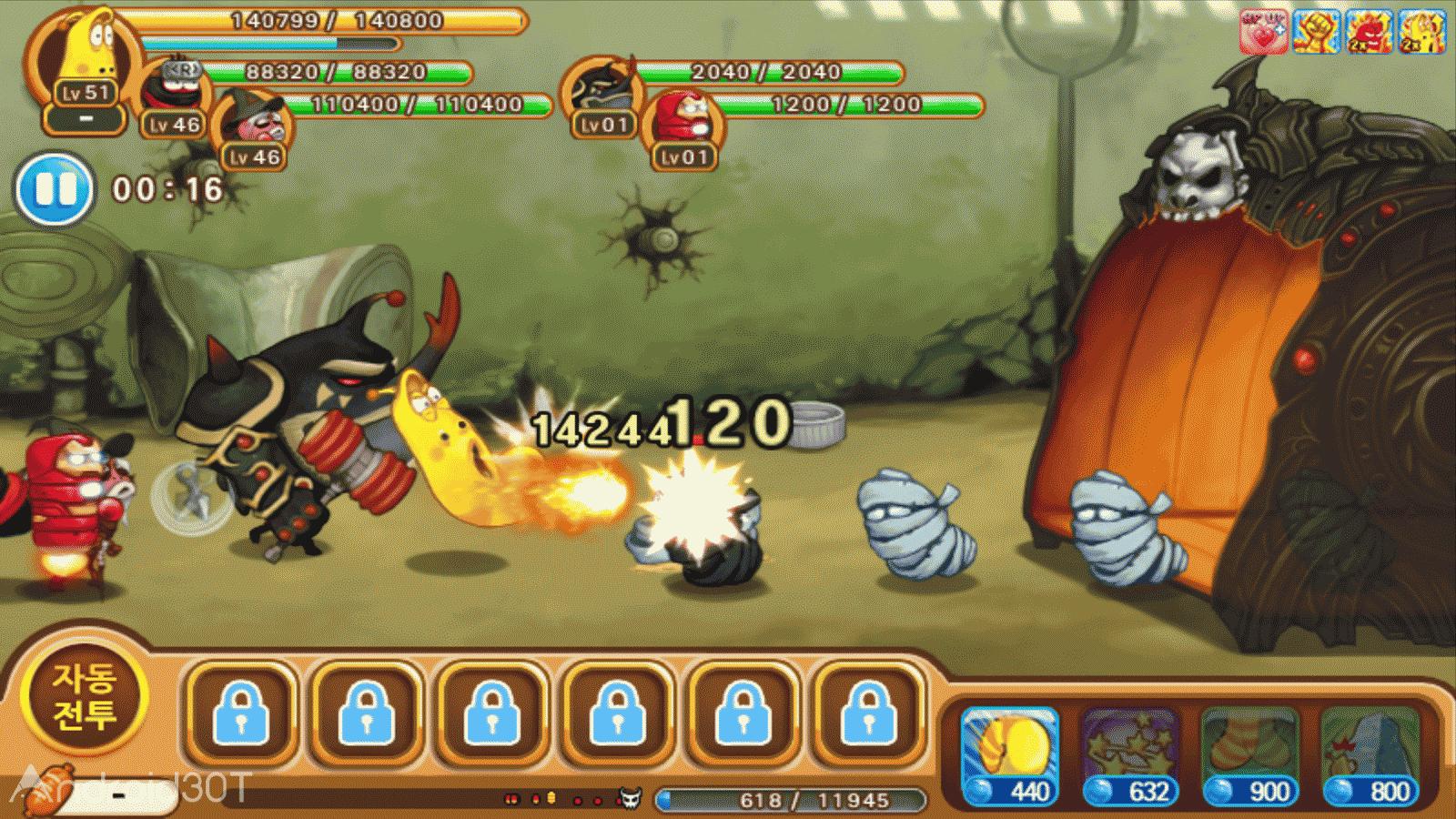 دانلود Larva Heroes : Episode 2 v2.4.2 – سری جدید بازی جذاب لاورا اندروید