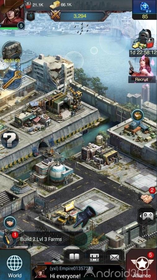 دانلود Last Empire-War Z 1.0.290 – بازی آخرین امپراطوری جنگ زامبی اندروید