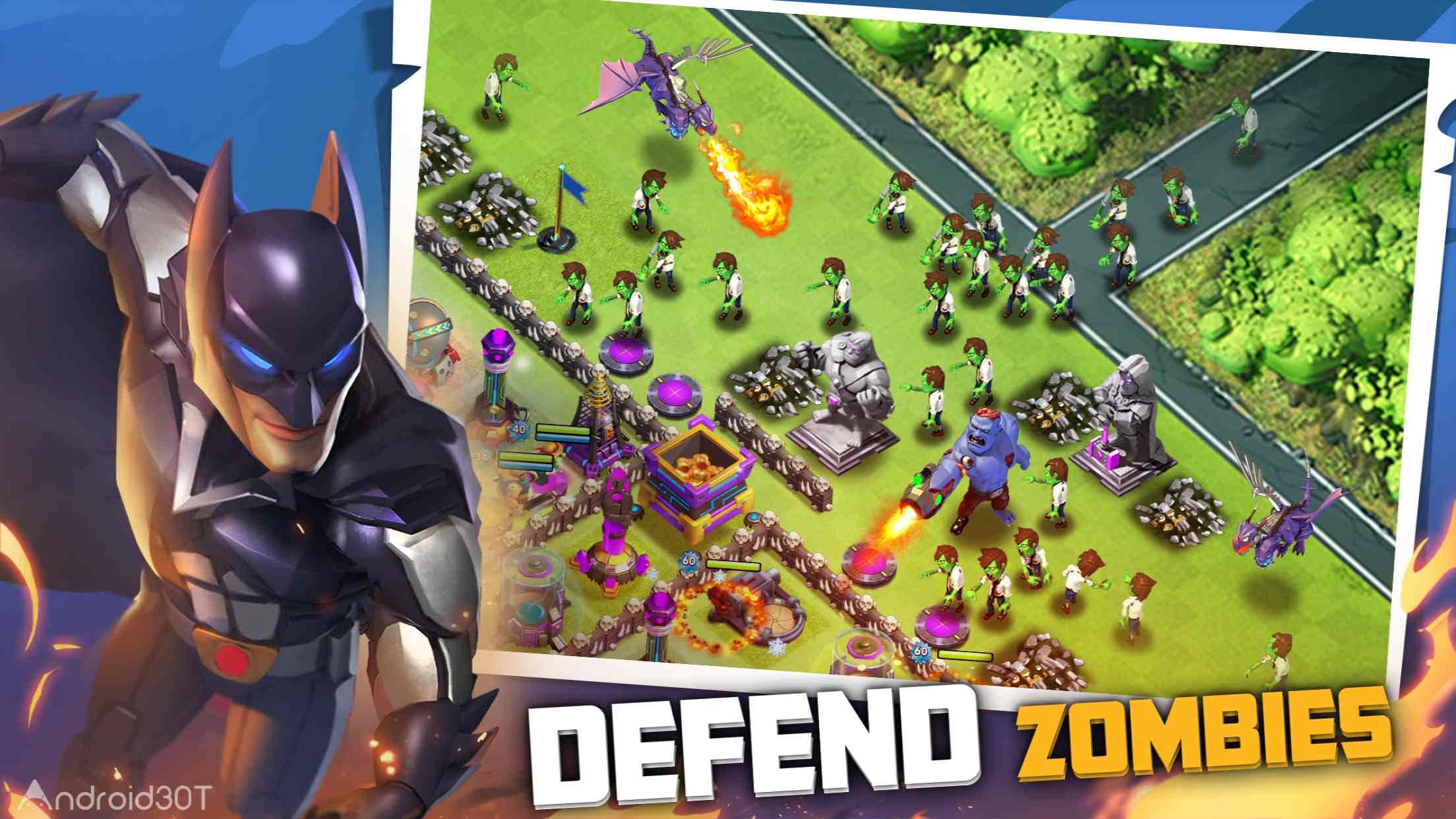 دانلود Last Heroes:Battle of Zombies 3.10.5 – بازی استراتژی آخرین قهرمانان اندروید