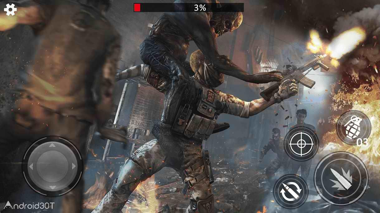 دانلود Last Saver: Zombie Hunter Master 12.1.0 – بازی اکشن شکارچی زامبی برای اندروید