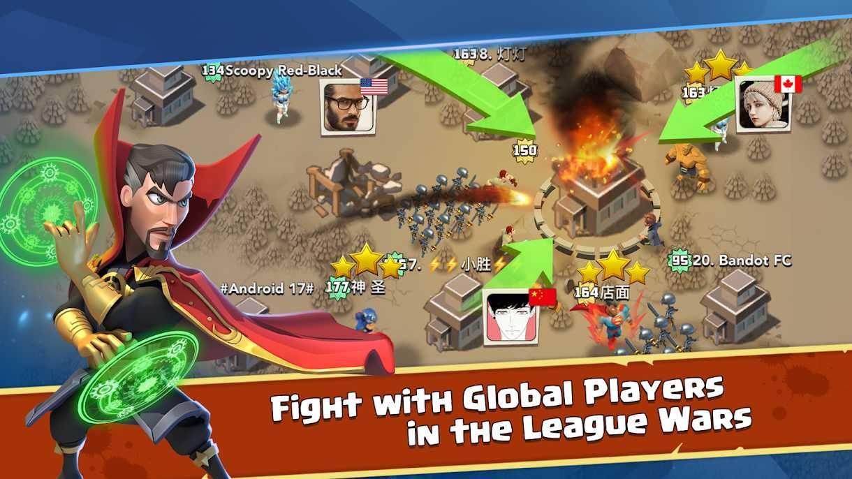 دانلود Lastday Clash: Heroes Battles 1.0.0 – بازی استراتژیک نبرد قهرمانان اندروید