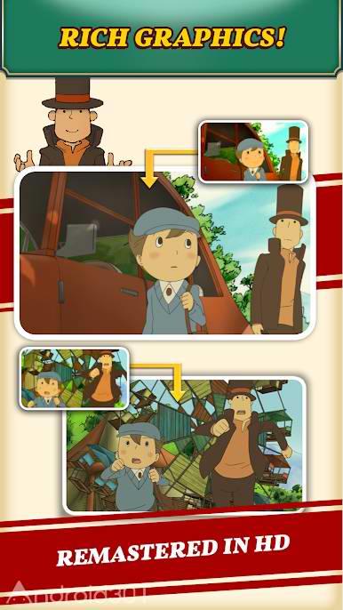 دانلود Layton: Curious Village in HD 1.0.3 – بازی ماجراجویی لایتون اندروید