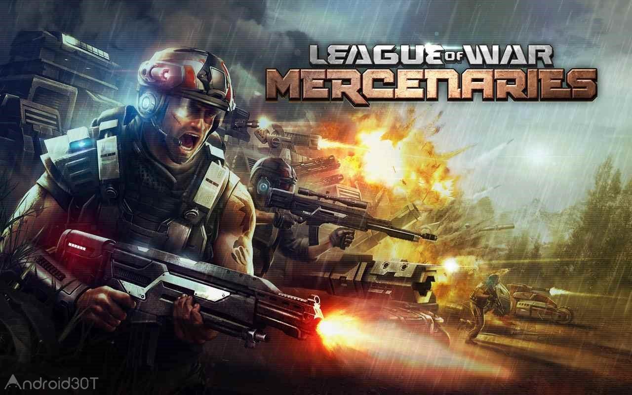 دانلود League of War: Mercenaries 9.8.13 – بازی استراتژیکی ارتش مزدوران اندروید