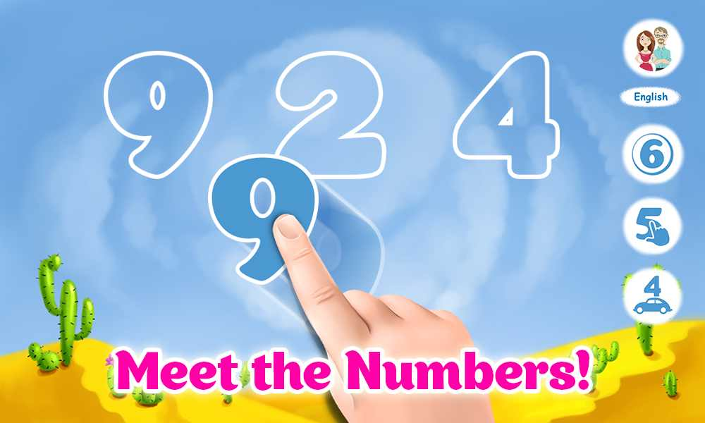 دانلود Learning numbers for toddlers 2.0.59 – بازی یادگیری اعداد اندروید