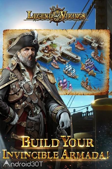 دانلود Legend of Vikings 1.0.0.5 – بازی استراتژیکی دیتادار اندروید