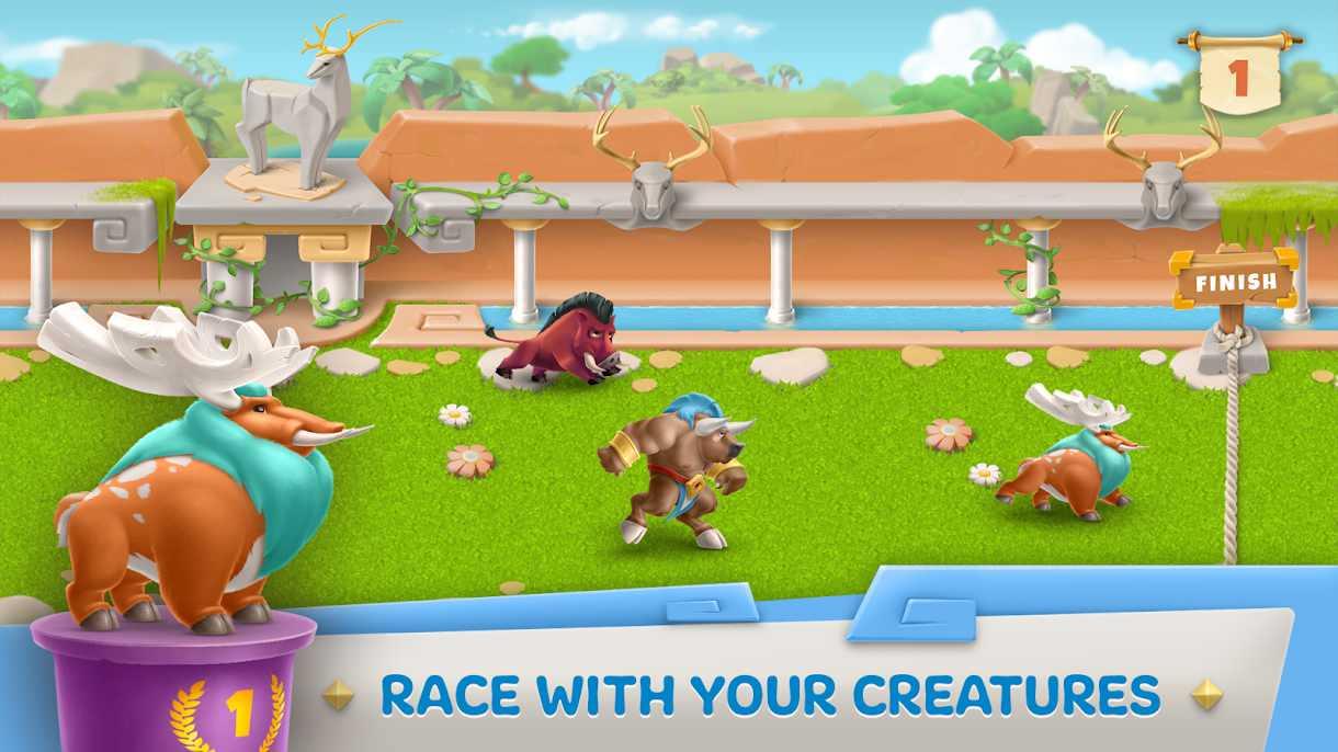 Legends Of Olympus: Farm & City Building Games
