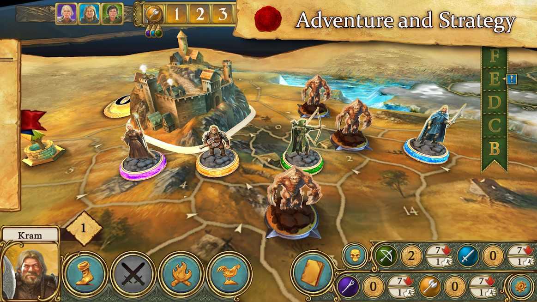 دانلود Legends of Andor – The King's Secret 1.1.0 – بازی اکشن افسانه های پادشاه آندور اندروید