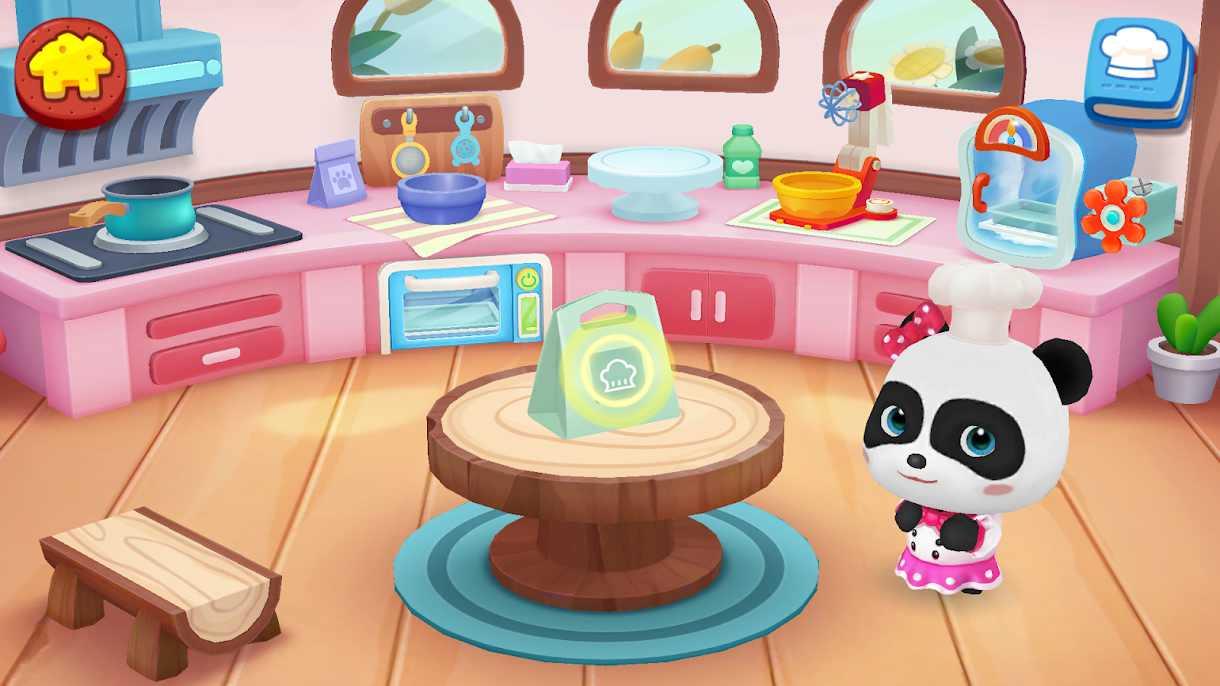 دانلود 8.34.00.00 Little Panda's Bake Shop : Bakery Story – بازی کودکانه جدید برای اندروید
