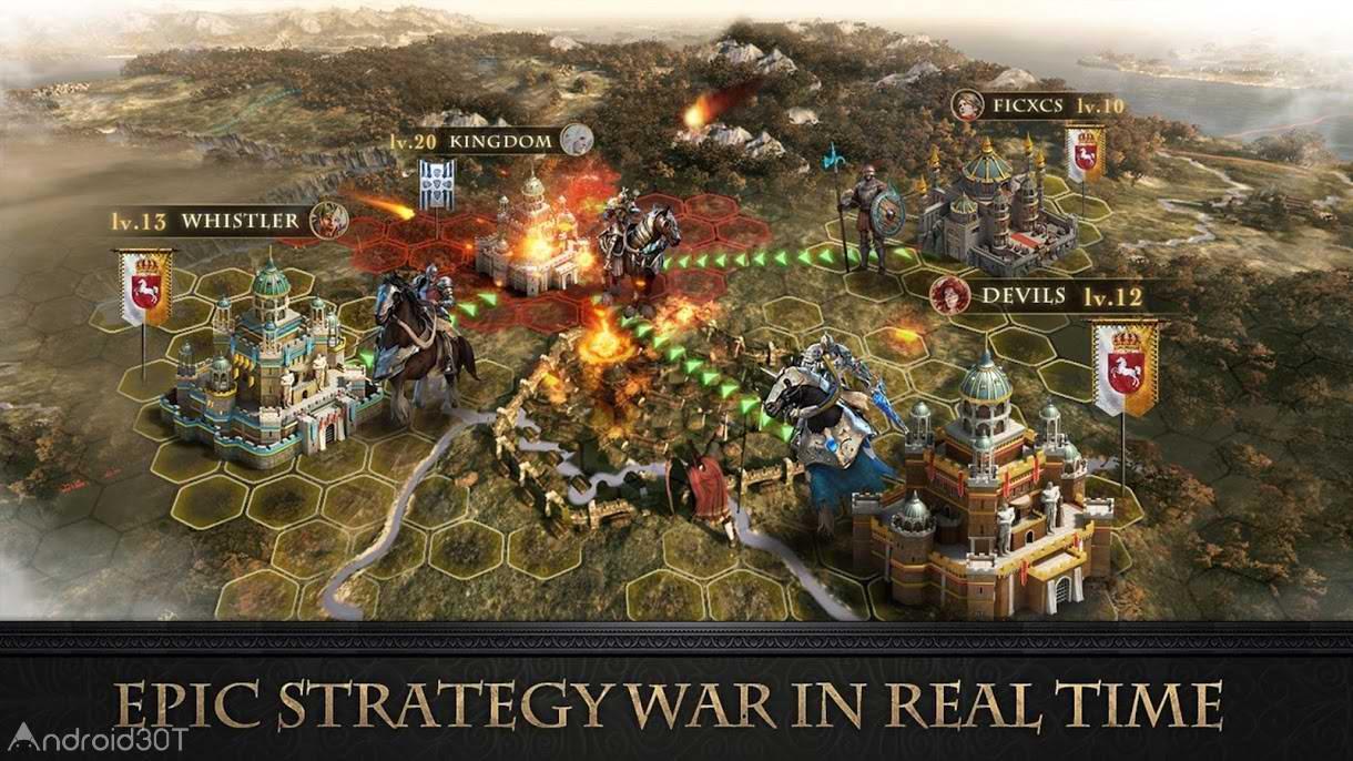 دانلود 1.3.60 Lord of War – بازی استراتژی خدای جنگ برای اندروید