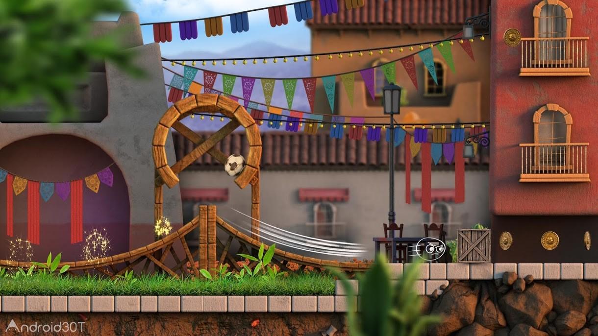 دانلود Luca: The Dreamer 2.0 – بازی جالب توپ لوکا اندروید