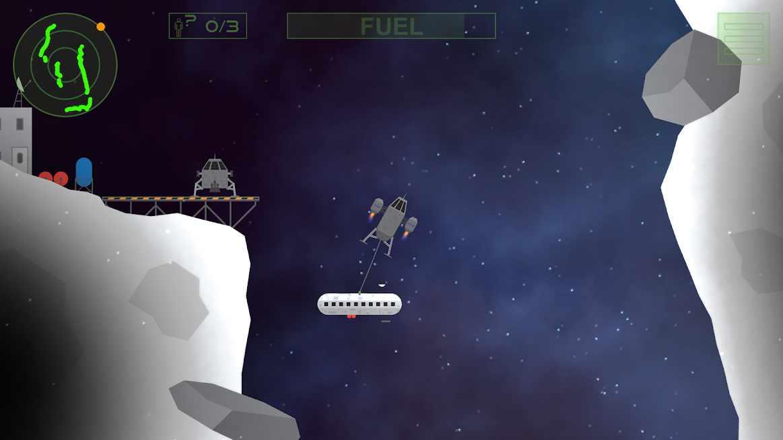 دانلود Lunar Rescue Mission Pro 1.01 – بازی شبیه سازی مأموریت نجات کره ماه اندروید