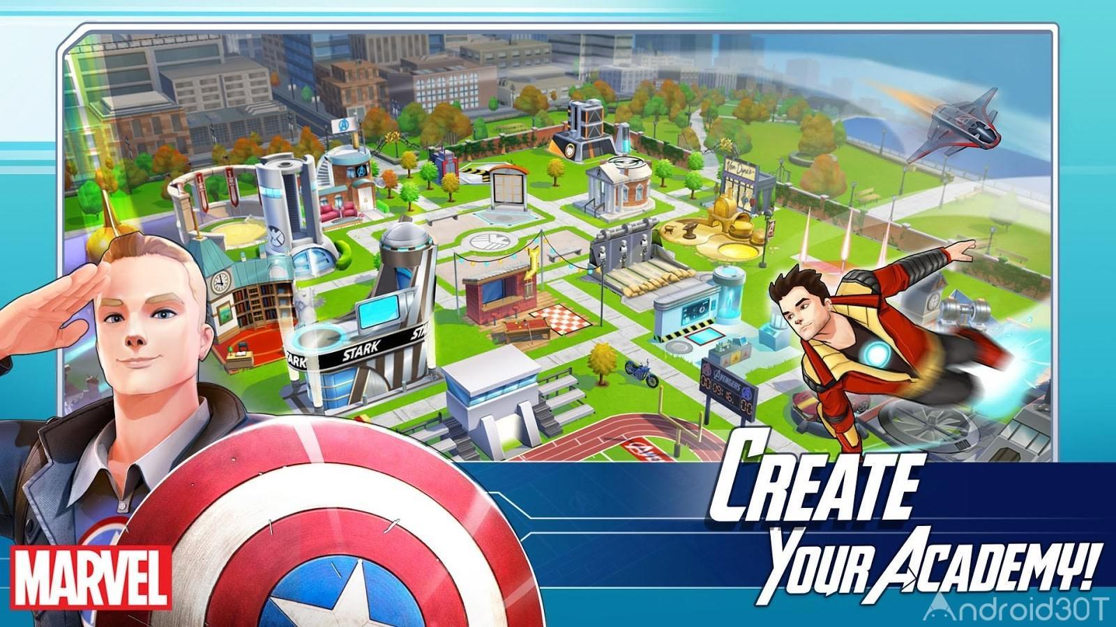 دانلود MARVEL Avengers Academy 2.15.0 – بازی انتقام جویان مارول اندروید
