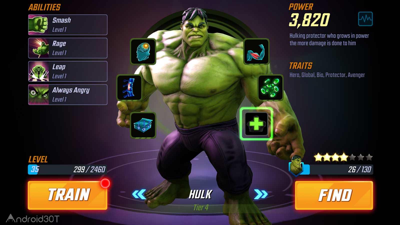 دانلود MARVEL Strike Force 5.0.1 – بازی قهرمانان مارول برای اندروید