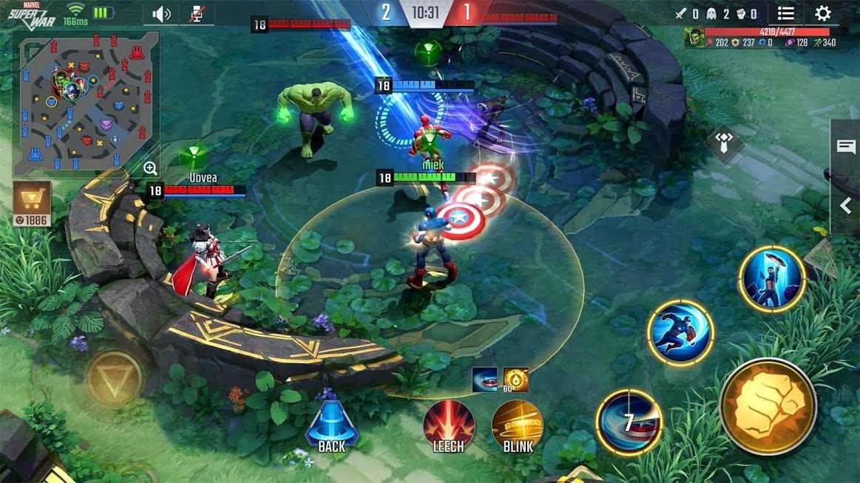 دانلود MARVEL Super War 3.12.0 – بازی استراتژیکی سوپر جنگ مارول اندروید
