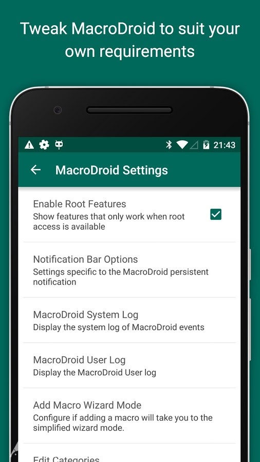 دانلود MacroDroid – Device Automation Pro 5.2.1 – برنامه ماکرودروید برای اندروید
