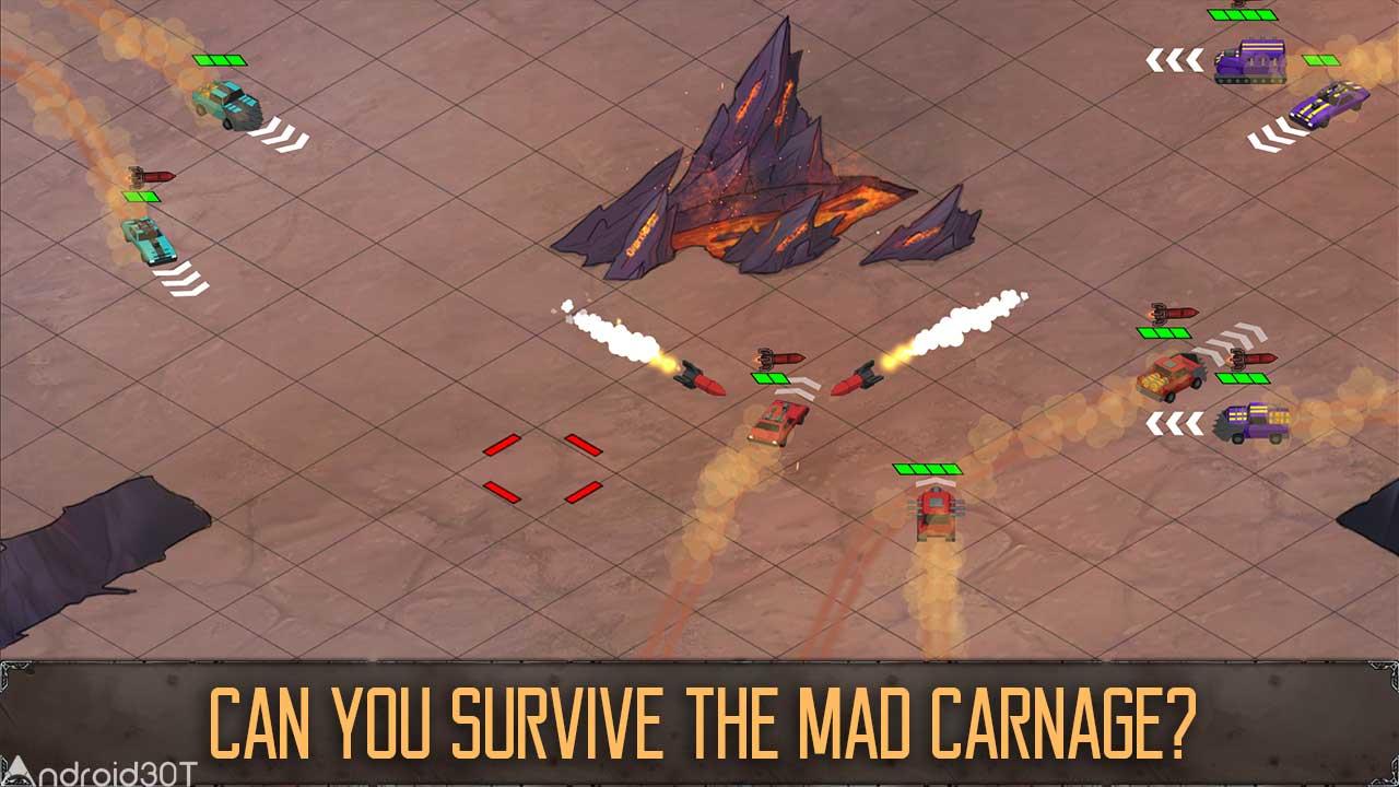دانلود Mad Carnage 1.0 – بازی هیجان انگیز ماشین جنگی اندروید