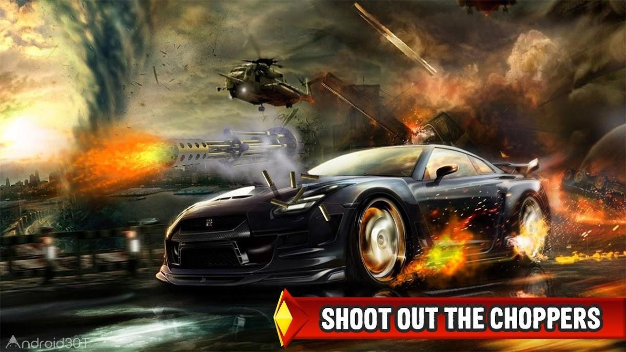 دانلود Mad Death Race: Max Road Rage 1.8.8 – بازی اکشن ماشین جنگی اندروید