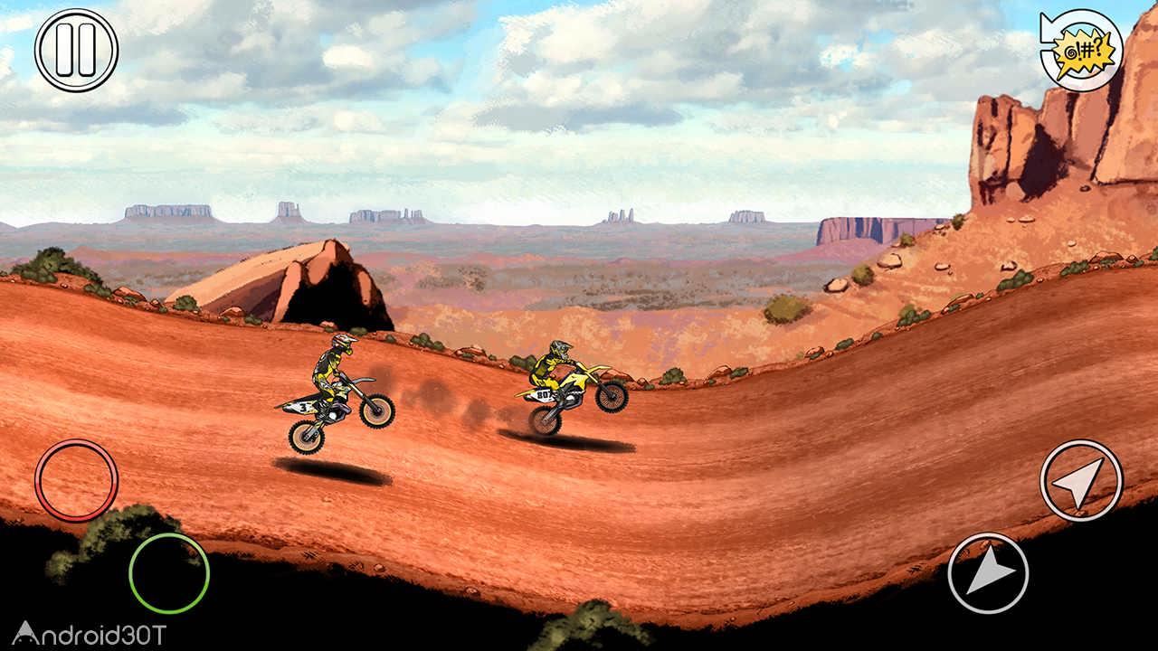دانلود Mad Skills Motocross 2 v2.26.3488 – بازی فانتزی موتور کراس برای اندروید