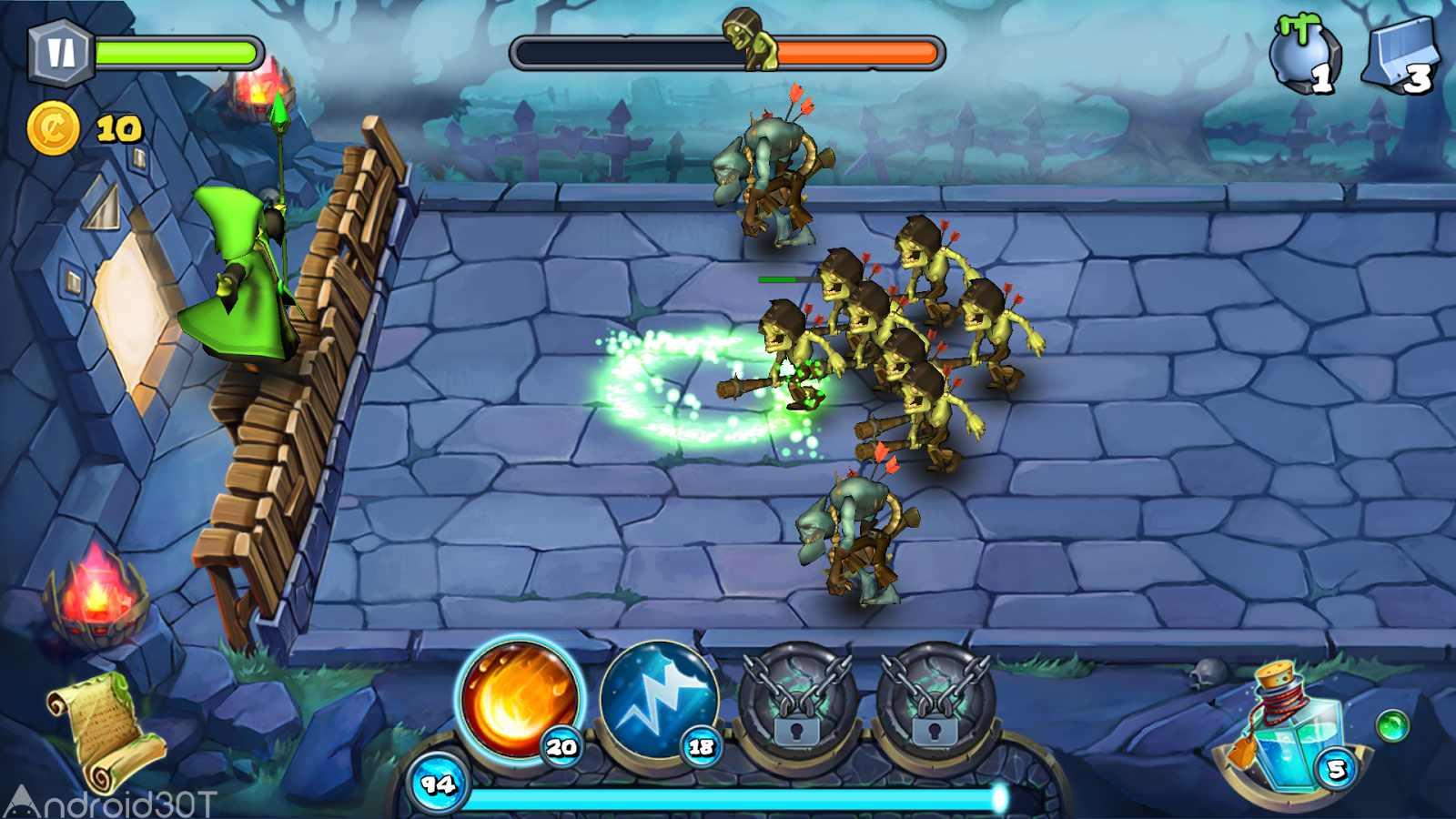 دانلود Magic Siege – Defender 1.8.42 – بازی استراتژیک محاصره ی جادویی اندروید