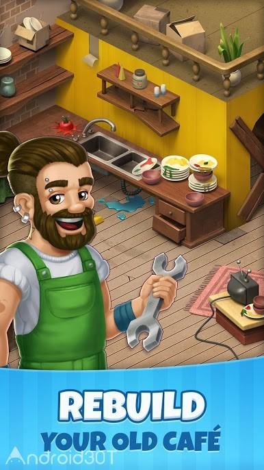 دانلود Manor Cafe 1.98.7 – بازی پازلی جالب برای اندروید
