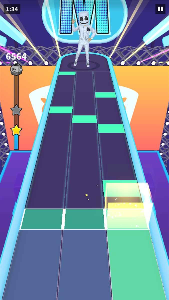 دانلود Marshmello Music Dance 1.3.7 – بازی موزیکال با مارشملو اندروید