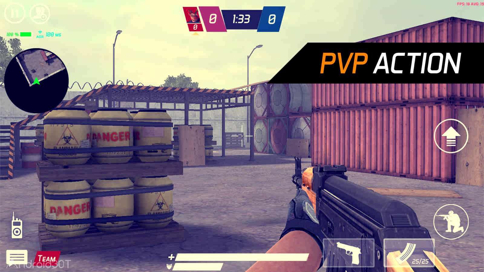 دانلود MaskGun – Multiplayer FPS 2.513 – بازی تفنگی چند نفره اندروید