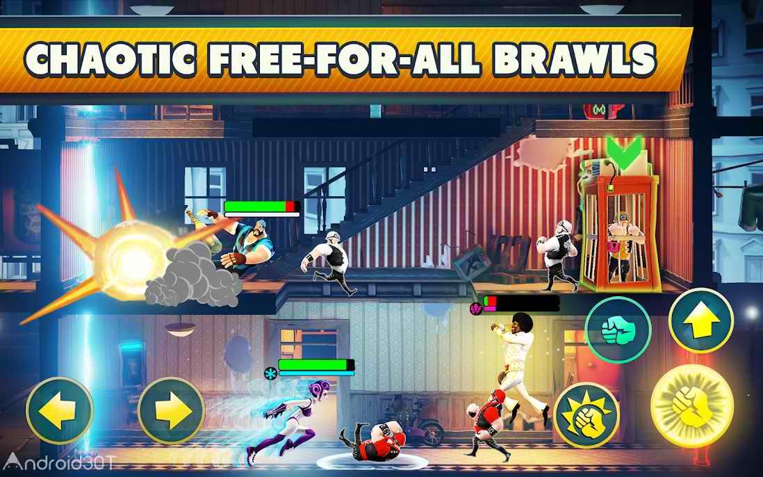 دانلود Mayhem Combat 1.5.7 – بازی مبارزه خیابانی برای اندروید