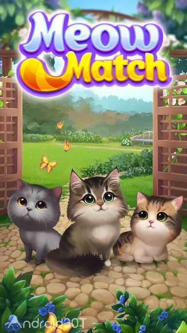 دانلود Meow Match 1.0.6 – بازی پازلی کودکانه برای اندروید