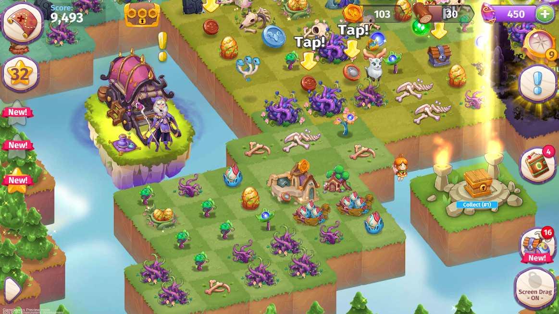 دانلود Merge Magic! 2.9.0 – بازی پازلی باغ جادویی اندروید