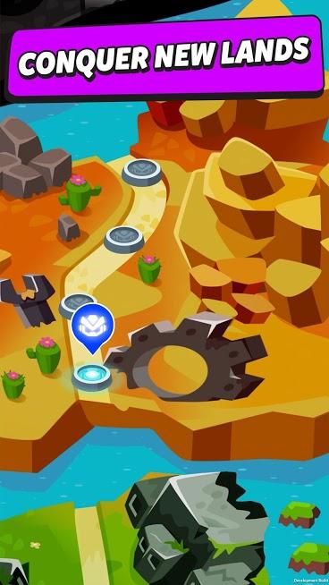 دانلود Merge Tower Bots 4.4.3 – بازی اکشن ادغام برج های اندروید