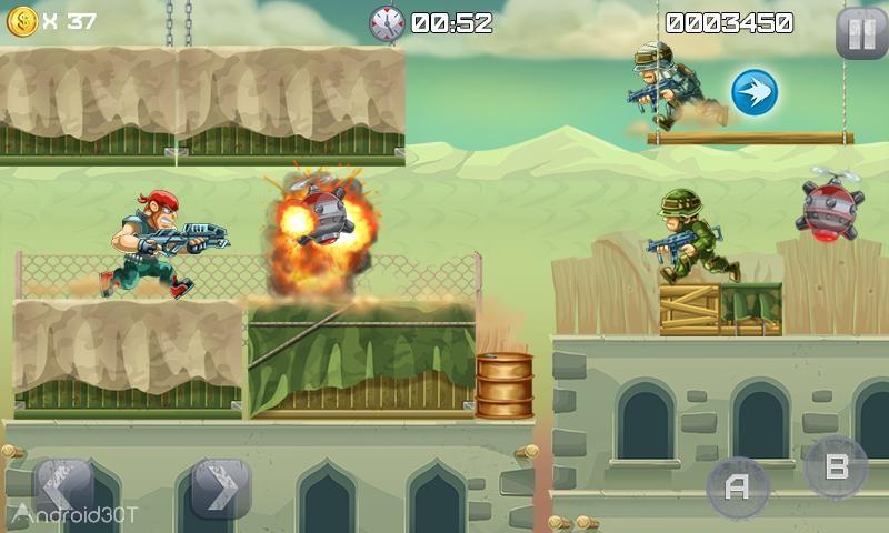 دانلود Metal Soldiers 1.0.14 – بازی اکشن سربازان آهنی اندروید