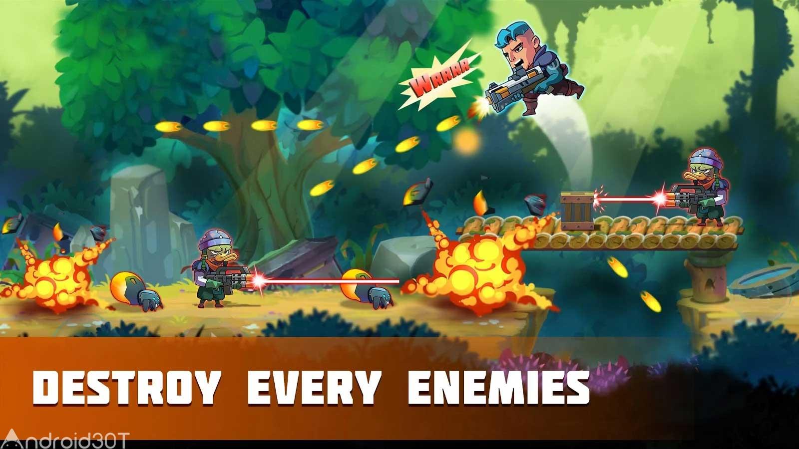 دانلود Metal Strike War: Gun Solider Shooting Games 1.9 – بازی سرباز تیرانداز اندروید