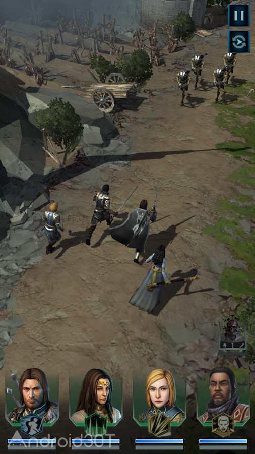 دانلود Middle-earth: Shadow of War 1.8.3.53965 – بازی نقش آفرینی سایه جنگ اندروید