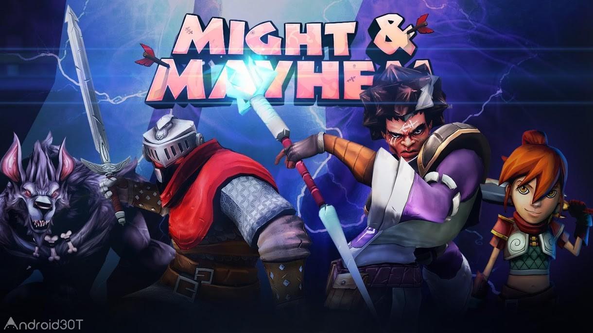دانلود Might and Mayhem: Battle Arena 3.4 – بازی استراتژیکی عرصه نبرد اندروید