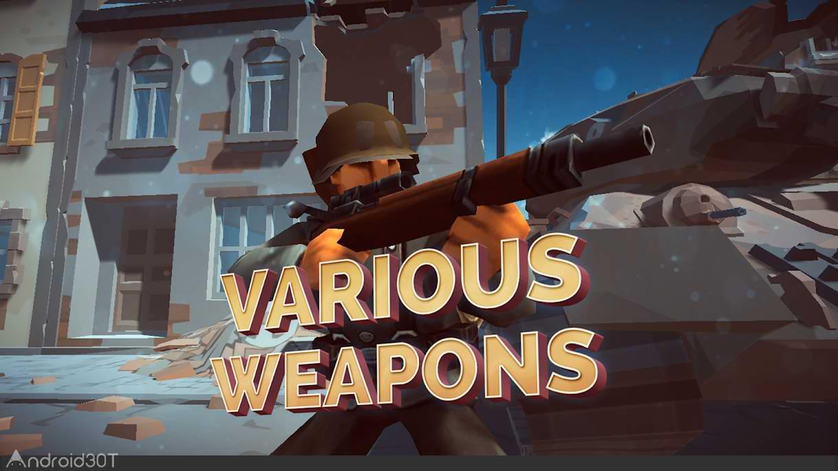 دانلود Mighty Army : World War 2 1.0.9 – بازی اکشن تیراندازی اندروید