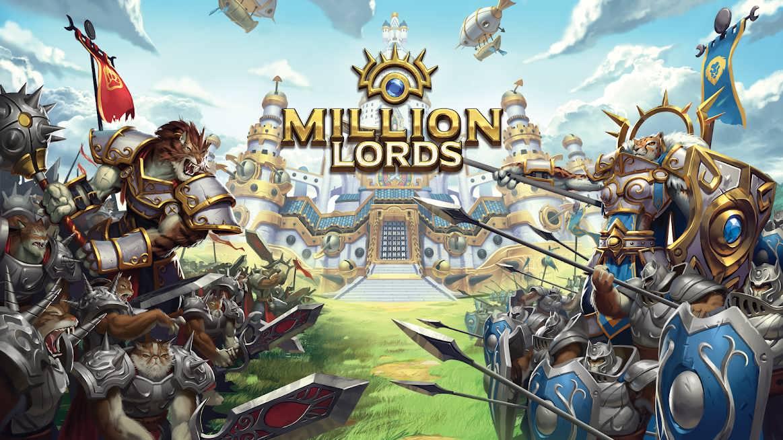 دانلود Million Lords: Kingdom Conquest 3.0.18 – بازی استراتژیکی اندروید