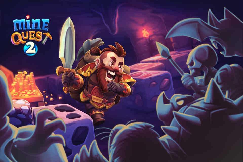 دانلود Mine Quest 2 v2.2.10 – بازی در جستجوی معدن 2 اندروید