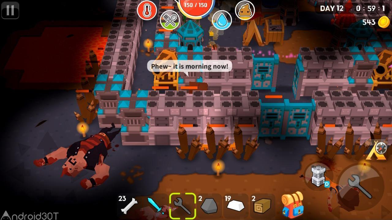 دانلود Mine Survival 2.2.1 – بازی ماجراجویی راز بقای من اندروید