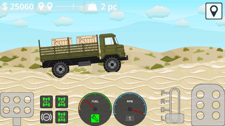 دانلود Mini Trucker 1.5.5 – بازی رانندگی با کامیون اندروید