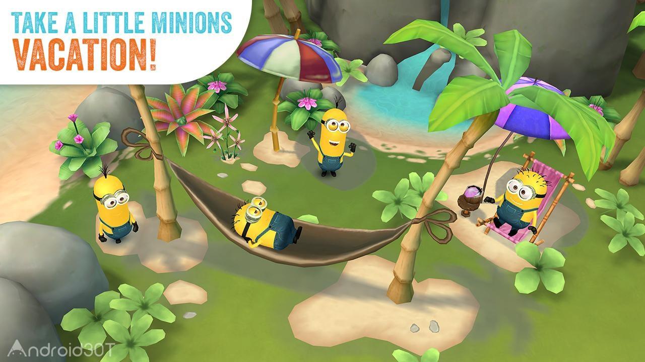 Minions Paradise 11.0.3403 – بازی آنلاین بهشت مینیون ها اندروید + مود