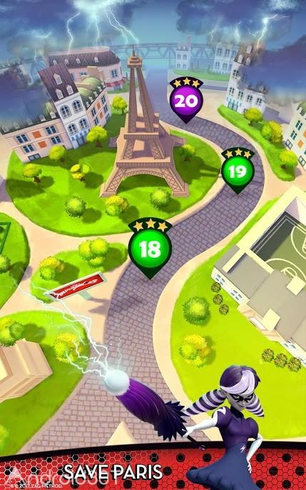 دانلود Miraculous Ladybug & Cat Noir 4.5.80 – بازی دوندگی جدید برای اندروید