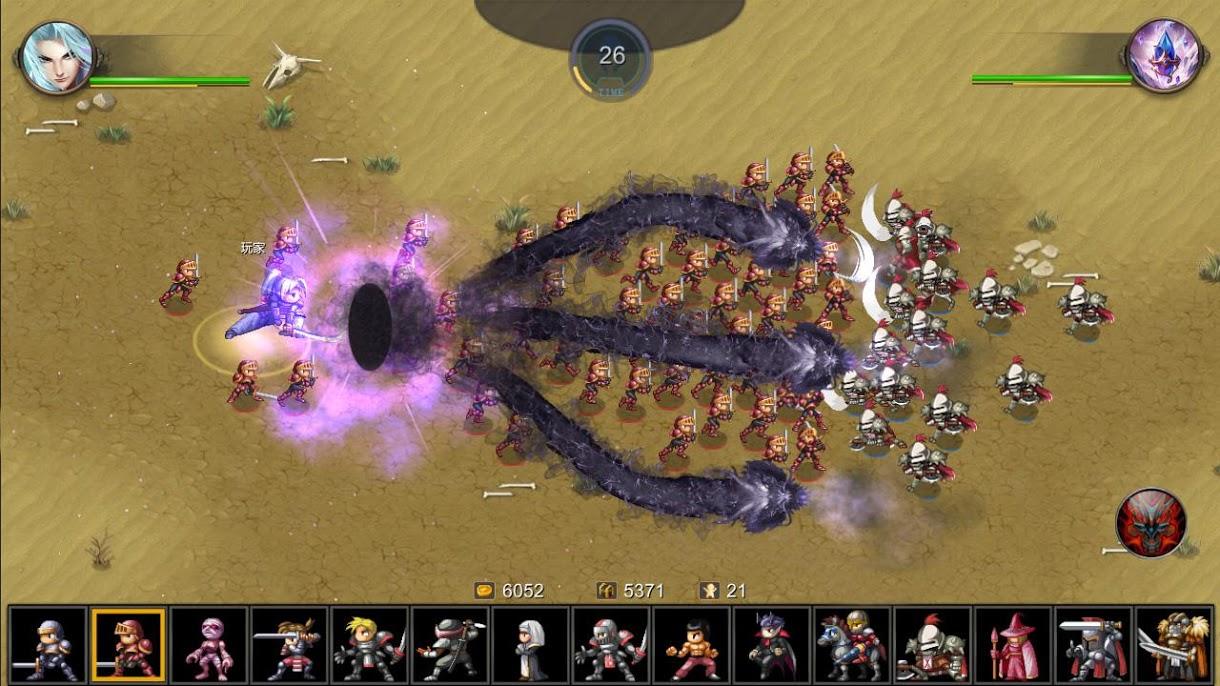 دانلود Miragine War 6.10.3 – بازی استراتژیک برای اندروید