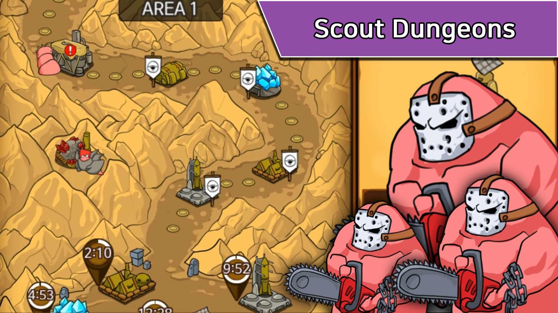 دانلود Missile Dude RPG: Tap Tap Missile v76 – بازی دوست موشکی اندروید