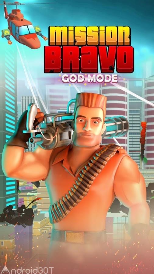 دانلود Mission Bravo: GOD MODE 1.9 – بازی اکشن ماموریت براوو اندروید