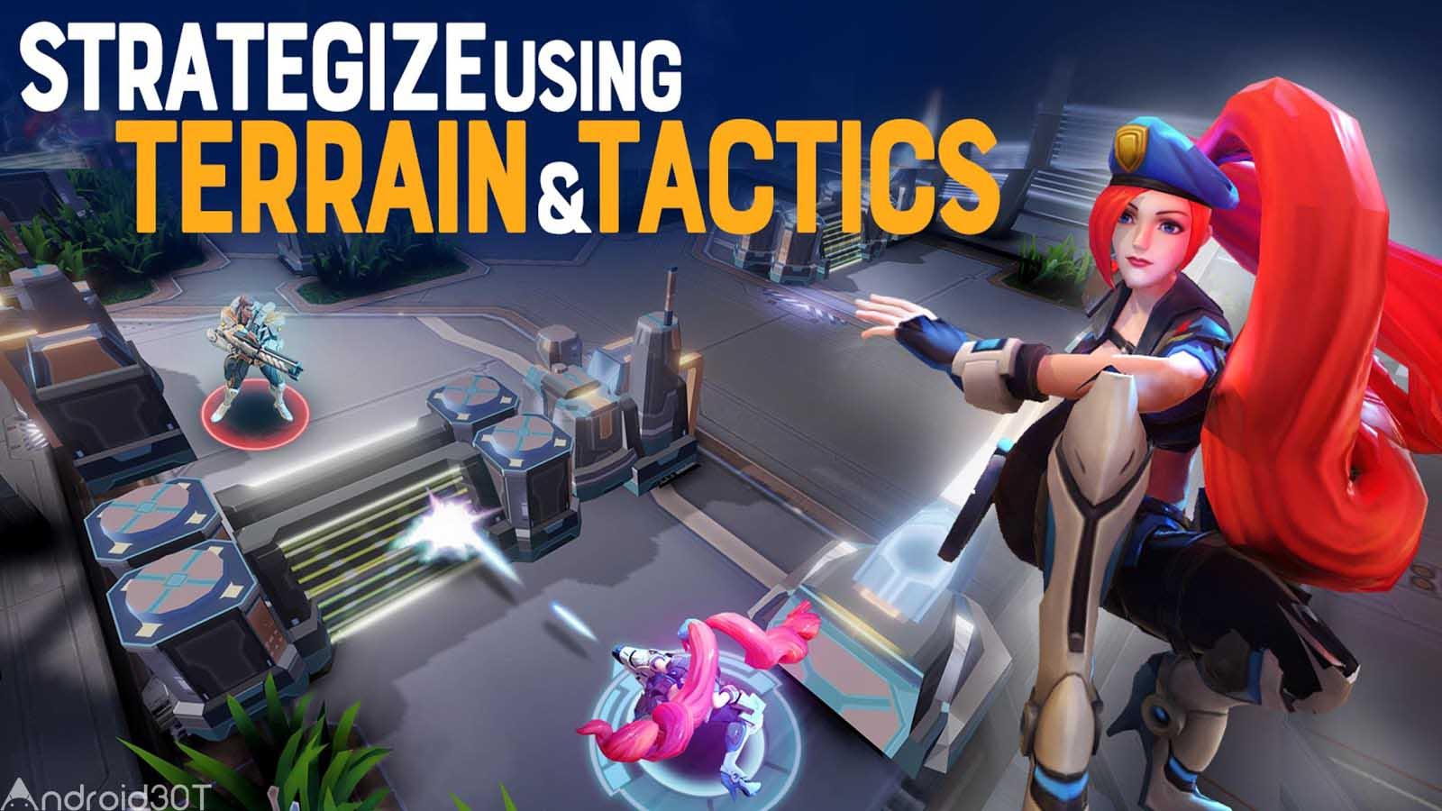 دانلود Mobile Battleground – Blitz 1.0.22 – بازی اکشن نبرد های موبایل اندروید