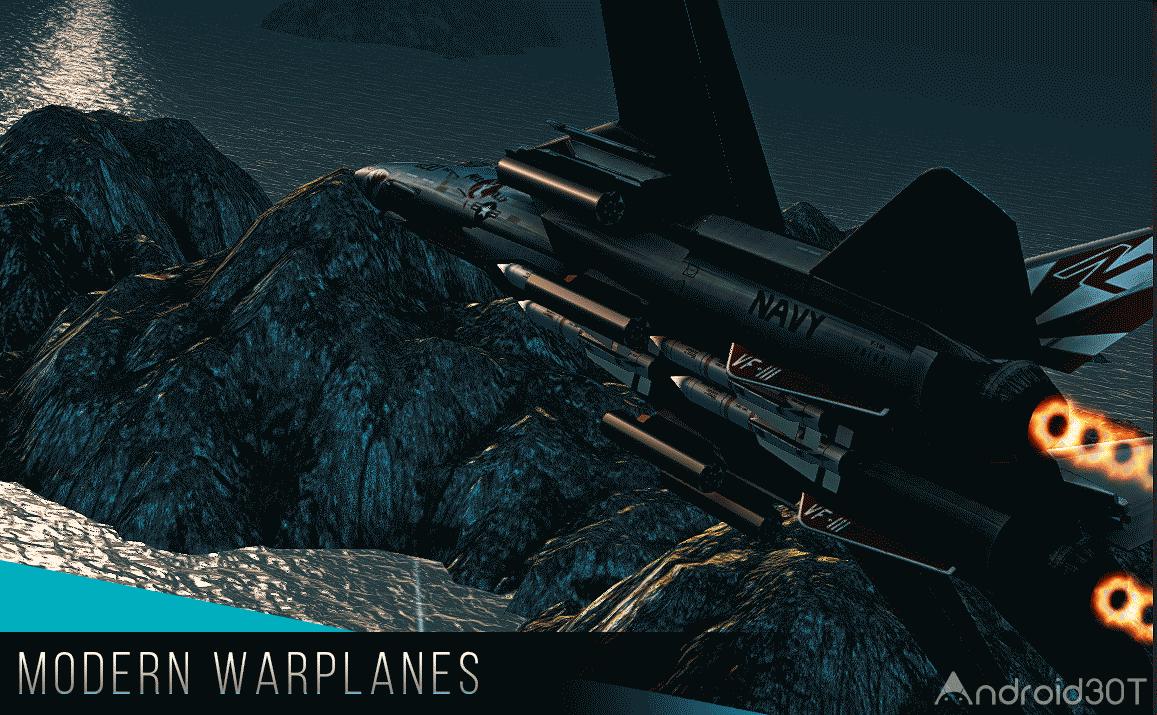 دانلود Modern Warplanes 1.19.0 – بازی هواپیمای جنگی آنلاین اندروید
