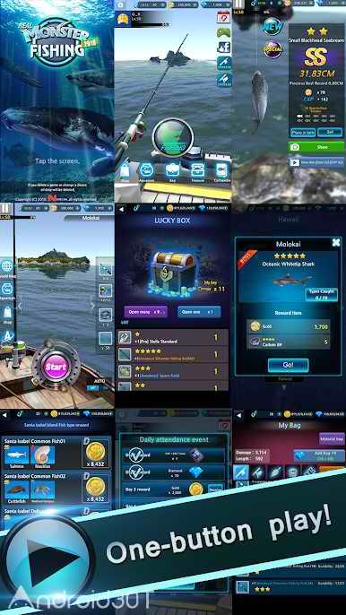 دانلود Monster Fishing 2020 v0.1.188 – بازی ماهیگیری 2020 اندروید