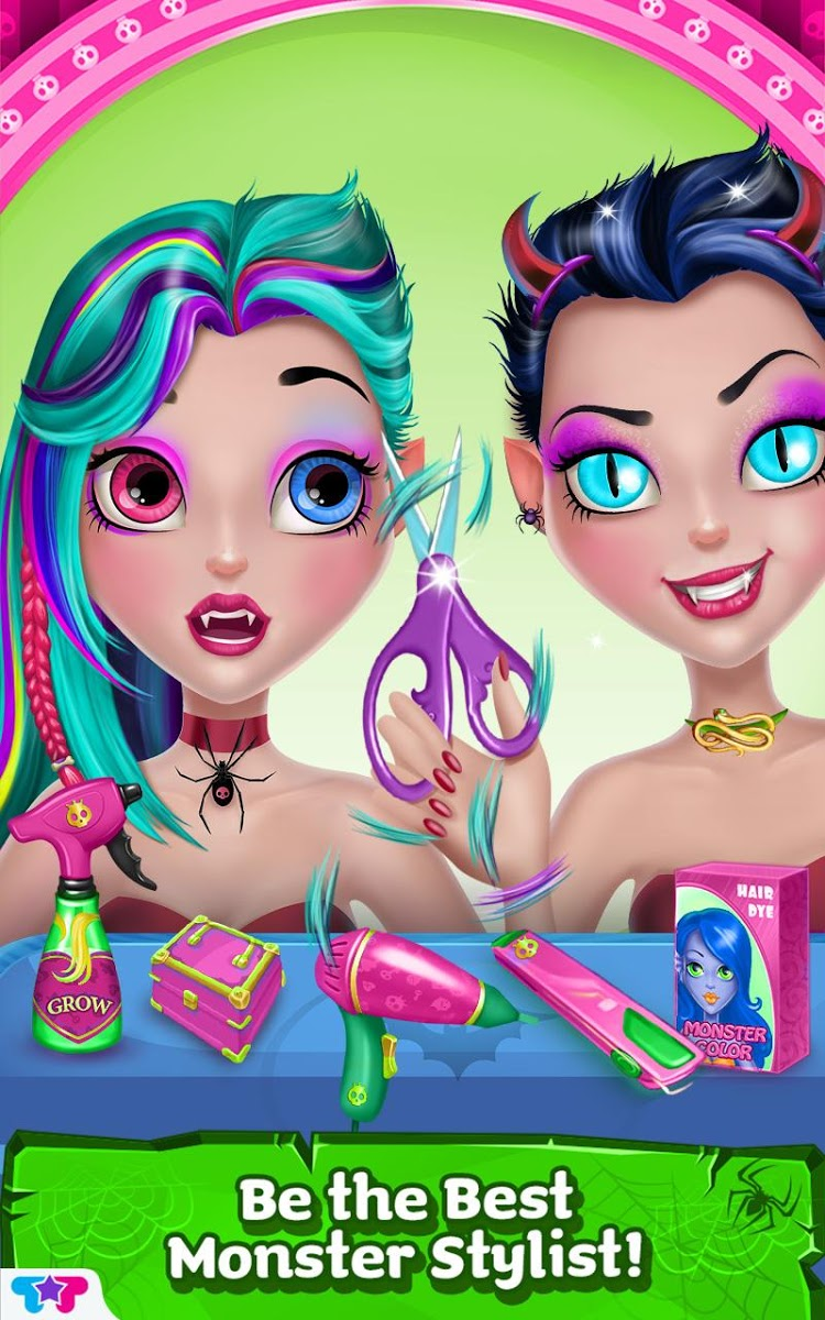 دانلود Monster Hair Salon 1.0.2 – بازی سرگرم کننده برای اندروید