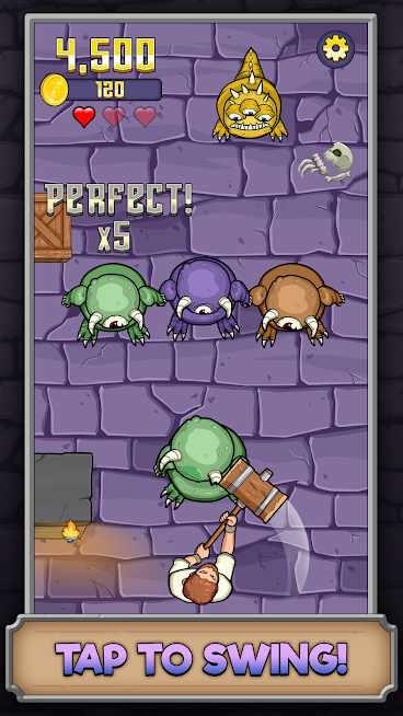 دانلود Monster Hammer 1.5.1 – بازی اکشن هیولای چکشی اندروید